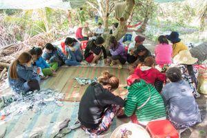 Phá 'sòng bạc quý bà' trong vườn trái cây, thu giữ trên 220 triệu đồng