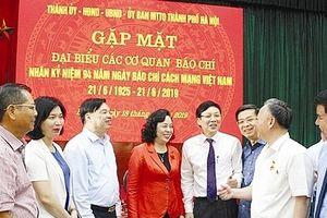 Hà Nội luôn hợp tác, tạo điều kiện cho các cơ quan báo chí