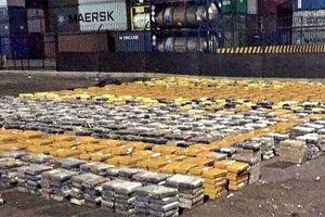 Vụ bắt giữ 16,5 tấn cocaine trị giá 1 tỷ USD