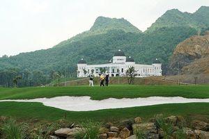 Thanh tra Bộ Xây dựng xử phạt sân golf 'khủng' xây dựng trái phép ở Hà Nam