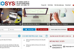Xin chứng thư xuất hàng dệt may sang Mexico qua Internet