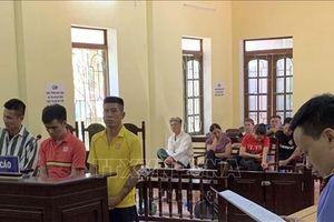 Phạt tù các đối tượng gây rối trật tự ở Cảng hàng không Thọ Xuân