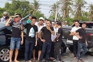 Lai lịch nhóm giang hồ táo tợn 'rượt' xe cán bộ công an ở Đồng Nai