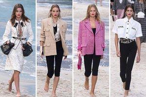 Áo khoác Chanel hồng rực làm cả thiên thần nội y Liu Wen đến fashionista Châu Bùi chao đảo