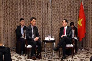 Phó thủ tướng Vương Đình Huệ 'chào bán' các ngân hàng 0 đồng