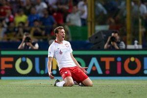 Giải U21 châu Âu: Ba Lan thắng sốc Italia