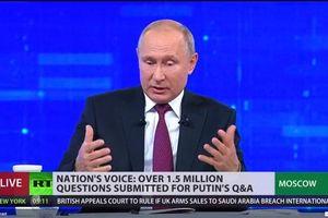 Tổng thống Nga đối thoại trực tuyến thường niên 2019