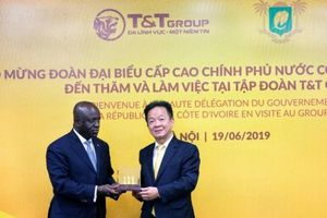 Bộ Ngoại giao Cộng hòa Bờ Biển Ngà thăm, làm việc tại T&T Group