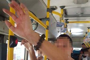 Tạm giữ kẻ nghi 'biến thái', có hành vi xấu trên xe buýt