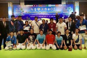 Đội tuyển Kurash Việt Nam giành hai HCV tại Giải trẻ châu Á