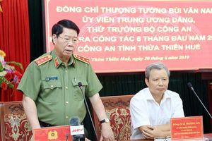 Bố trí CA chính quy đến 100% các xã trên địa bàn Thừa Thiên – Huế