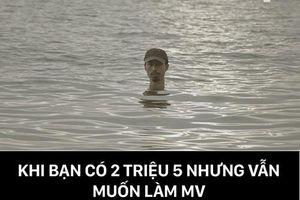 Đi đâu cũng thấy ảnh chế 'quái vật hồ Loch Ness' Đen Vâu sau MV mới