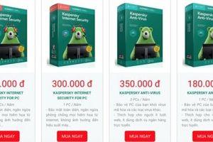Phần mềm chống virus nhái, giả tràn lan, Kaspersky gấp rút cảnh báo
