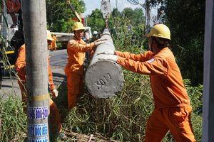 Chủ động ứng phó và khắc phục sự cố lưới điện do mưa bão