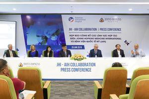 Johns Hopkins Medicine International hợp tác chuyên môn với Bệnh viện Quốc tế Mỹ (AIH)