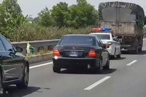 Phạt tài xế xe tải không nhường đường cho xe ưu tiên