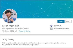 3 người Việt được Facebook vinh danh top 100 'cao thủ' bảo mật toàn cầu