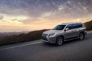 Lexus GX 2020 trình làng: Thiết kế mới, nhiều công nghệ an toàn hơn