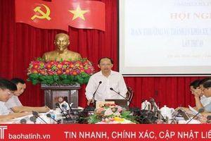 Tập trung, chủ động thực hiện các nhiệm vụ phát triển của thành phố Hà Tĩnh