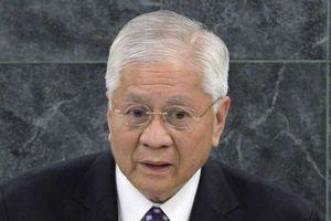 Cựu Ngoại trưởng Philippines kêu gọi Manila cần cứng rắn với Trung Quốc