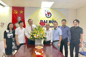 Thứ trưởng Lê Công Thành thăm, chúc mừng các cơ quan báo chí, truyền thông ngành Tài nguyên và Môi trường