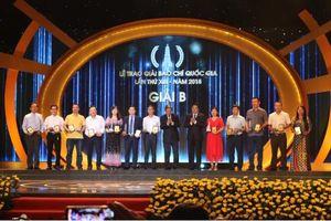 106 tác phẩm xuất sắc được trao Giải Báo chí Quốc gia lần thứ XIII - 2018