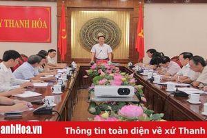 Thường trực Tỉnh ủy giao ban công tác dân vận, MTTQ và các đoàn thể chính trị - xã hội
