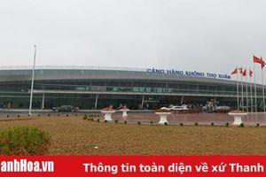 Tăng cường công tác bảo đảm an ninh trật tự tại Cảng hàng không Thọ Xuân