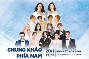 Lộ diện dàn ca sĩ trong đêm chung khảo phía Nam Miss World Việt Nam