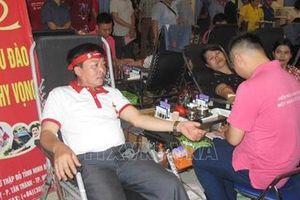 Người Đảng viên gần 60 tuổi 31 lần tham gia hiến máu tình nguyện