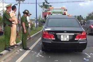 Tạm đình chỉ công tác 2 cảnh sát trong vụ giang hồ vây ô tô tại Đồng Nai