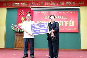 TP Hà Nội và tỉnh Thái Nguyên tăng cường hợp tác, phát triển
