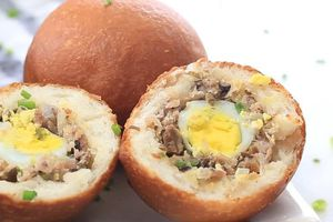 Cách làm bánh bao chiên thơm ngon ăn thay cơm chống ngấy