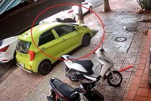 Quên kéo phanh tay, 'ôtô không người lái' trôi tự do gần 50 m