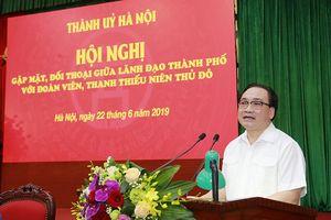 Bí thư Thành ủy Hoàng Trung Hải: Mạnh dạn trao nhiệm vụ nặng nề để lớp trẻ được cống hiến