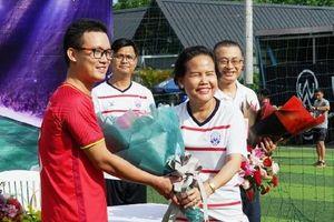 Giao hữu bóng đá kỷ niệm 52 năm quan hệ ngoại giao Việt Nam-Campuchia