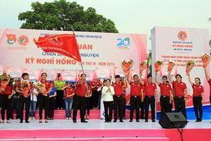 Hơn 50.000 lượt thanh niên công nhân TP Hồ Chí Minh tham gia chiến dịch tình nguyện Kỳ nghỉ hồng