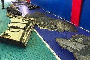 Lần đầu tiên Iran công bố hình ảnh mảnh vỡ trinh sát cơ 12 tấn của Mỹ
