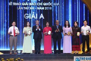 Tôn vinh 106 tác phẩm báo chí xuất sắc tại Lễ trao giải Báo chí Quốc gia lần thứ 13