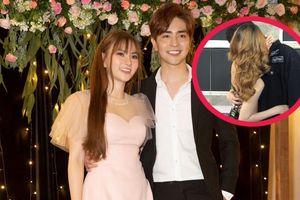 Bạn trai Thu Thủy bị 'khui' clip thân mật với tình cũ trong show 18+