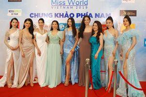 Dàn hoa hậu, á hậu khoe sắc trên thảm đỏ chung khảo Miss World Việt Nam