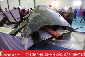 Cận cảnh mảnh vỡ UAV 123 triệu USD của Mỹ bị Iran bắn rơi