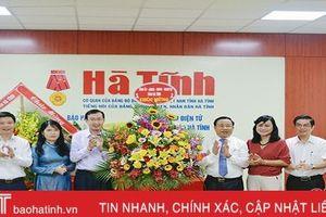 Thư cảm ơn của Báo Hà Tĩnh nhân ngày Báo chí Cách mạng Việt Nam