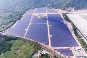 Nhà máy điện mặt trời Vĩnh Tân 2 hơn 986 tỷ đồng chính thức phát điện