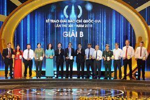 Trao Giải Báo chí Quốc gia lần thứ XIII - năm 2018