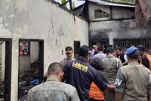Cháy nhà máy diêm ở Indonesia, hơn 30 người thiệt mạng