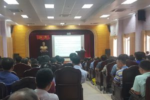 Nam Định: Bàn việc xử lý các tình huống phát sinh trong kỳ thi THPT Quốc gia