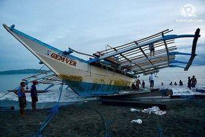 Món quà ý nghĩa ngư dân Philippines tặng tàu Việt khi được cứu