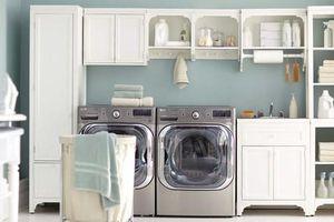 Đến máy giặt cũng cần phong thủy để nhà nghèo mấy cũng vui vẻ, xông xênh