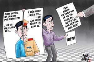 CSGT kiện lãnh đạo xã vì bị nhận xét 'hách dịch'